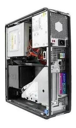 computador slim cpu usada desktop pc barato 4gb memoria ram