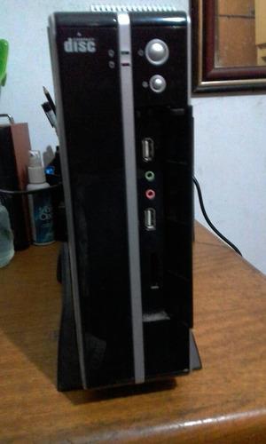 computador slim, processador  atom 1.6 1gb ram 160hd
