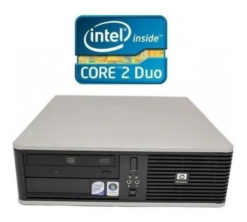 computador usado core2duo 160gb+2gb solo torre