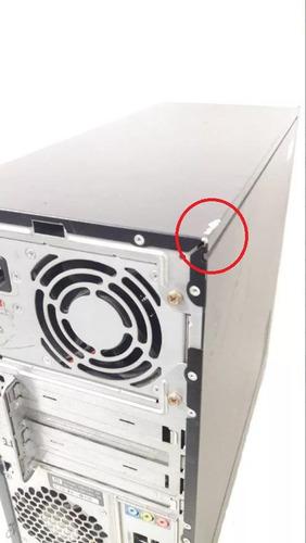 computador usado hp ram 2gb hd 80gb barato em oferta!