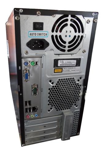 computador win dual core 2gb ddr3 hd320gb - semi novo