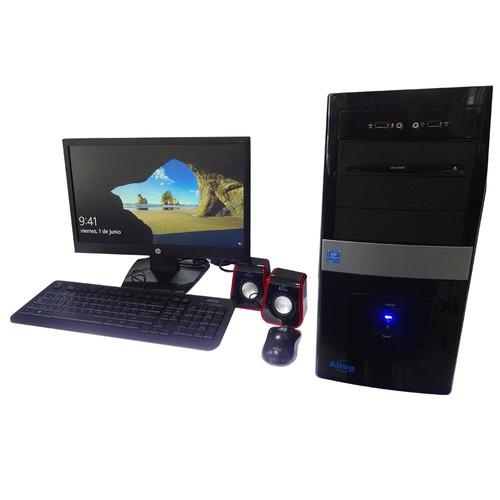 computadora aiteg azulejo intel g230 monitor teclado mouse