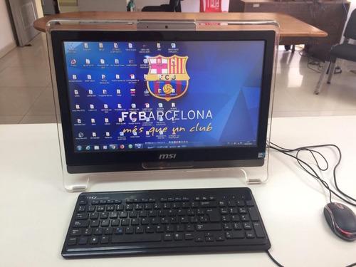 computadora all in one msi wind top ae1920 pantalla tactil
