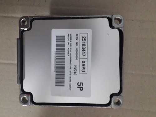 computadora aveo lt original gm 25183447