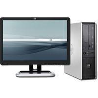 computadora barata core 2 duo 4gb lcd 19 wide ciber remate