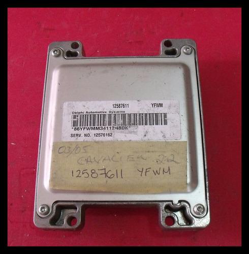 computadora chevrolet cavalier 12587611