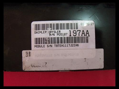 computadora chrysler caravan 05187197aa