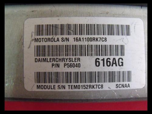 computadora chrysler durango 56040616ag