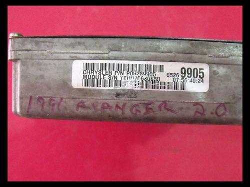 computadora chrysler strtratus 05269905