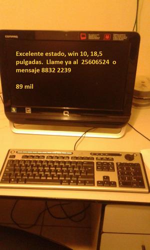 computadora compac todo en uno  90 mil