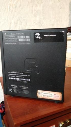 computadora compaq cq1507la (incluye monitor led) remate!!!