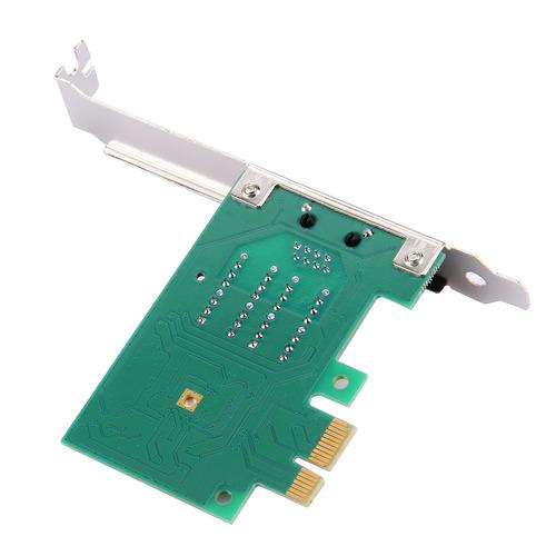 computadora complemento pci-e 10 red lan ethernet gigabit