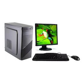 Computadora Completa Dual Core - 4gb Ddr3 - Monitor - Wifi