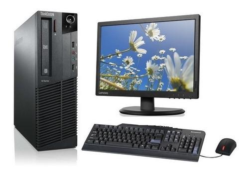 computadora completa dual core 4gb ddr3 - lcd 17 - wifi