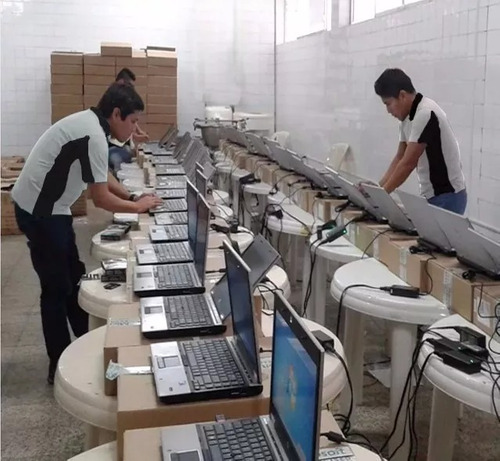 computadora completa hp-6005 c/ lcd 17 ,ideal colegios, jueg