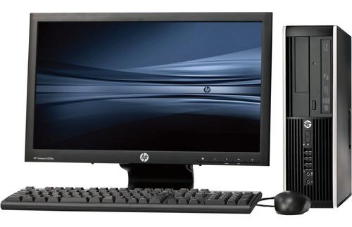 computadora completa hp core i7, empresarial, 4gb, tec y mou
