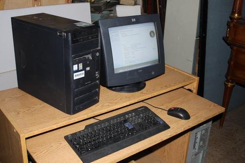 computadora completa hp dx2000 o d220 microtower con monitor