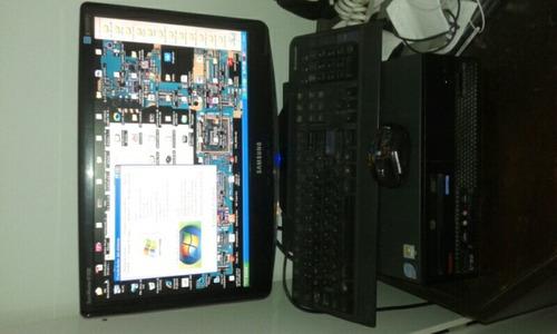 computadora completa monitor