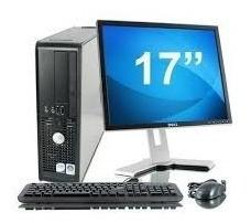 computadora completa, monitor lcd 17, dual core, remate