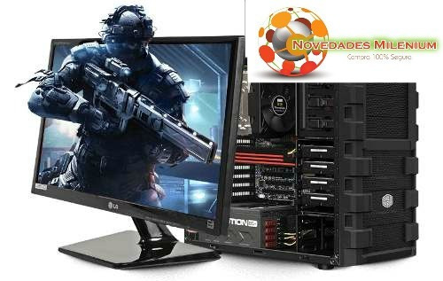 computadora core i5 / 4gb/1tb/ 20  led completa ! !gamer !!