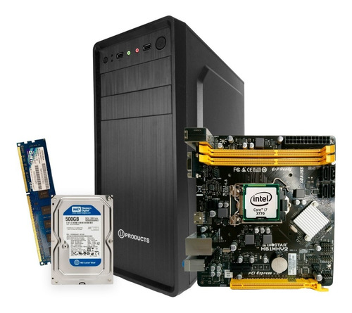 computadora core i7 3era gen 8gb ram 500gb disco 1155 nueva