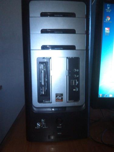 computadora core, monitor