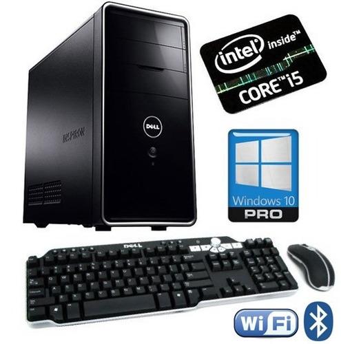 computadora cpu core i5 dell inspiron 4ta gen 8gb 500gb wifi