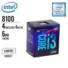 computadora cpu intel core i3-8100-3.6 8th gen 2000gb 4gb