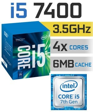 computadora cpu intel core i5 3.0 7ma gen 2tb 4gb led 20, i7