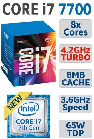 computadora cpu intel core i7 3.6 7ma gen 2tb 4gb led 20 dvd
