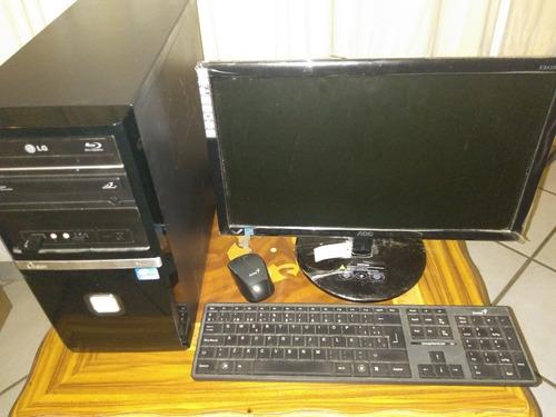 computadora cpu monitor mouse