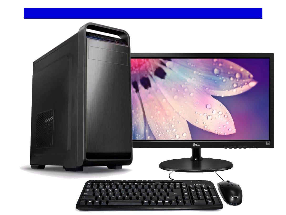 Computadora de escritorio intel celeron monitor 19 kit for Escritorio para computadora