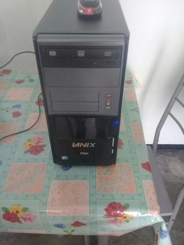 computadora de escritorio lanix titan 4040 monitor 15.6