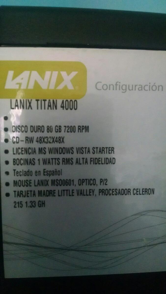 LANIX TITAN 4000 TREIBER HERUNTERLADEN