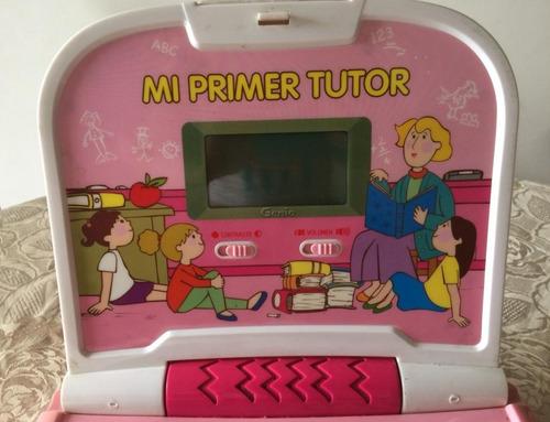 computadora de juguete marca genio (mi primer tutor)