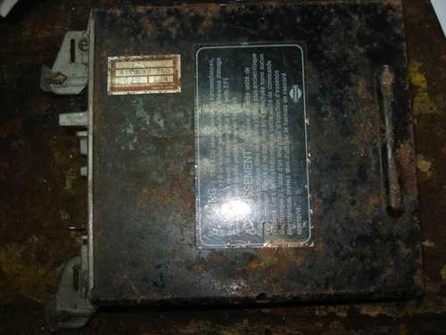 computadora de nissan maxima de 1984