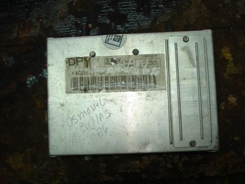 computadora de oldmsbile cutlas 1986