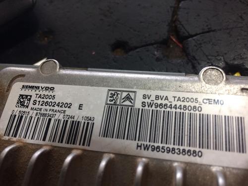 computadora de transmisión  peugeot transmisión automática