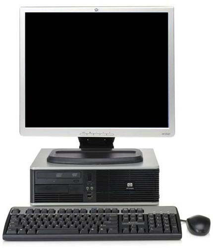 computadora dell core2duo/1gb/80 con lcd de 17 rd$ 4,200.00