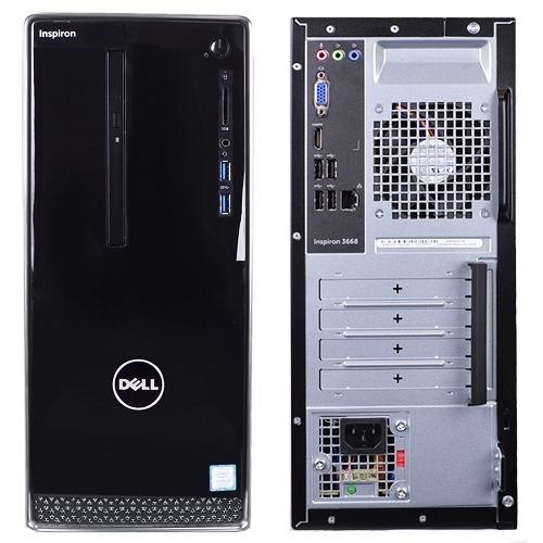 computadora dell inspiron core ci3-7100/ 8gb ddr4/ 1 tb