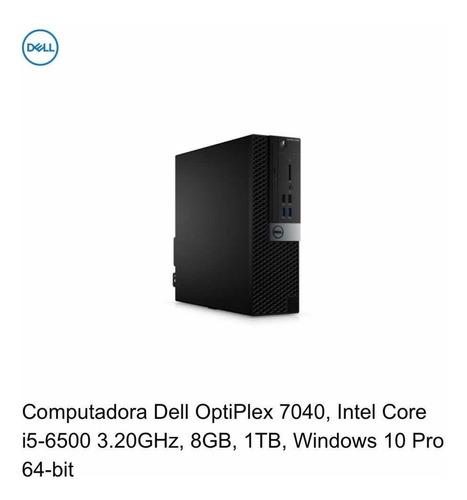 computadora dell optiplex 7040 i5 con pantalla 21