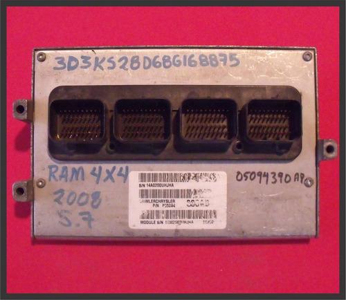 computadora dodge ram 2500 p05094390ab 5.7 2008