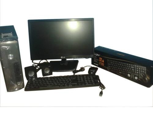 computadora dual core 500 gb disco y 4 de ram monitor 19¨