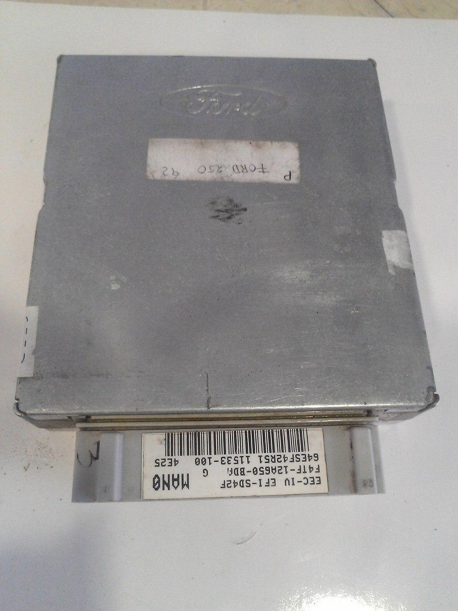 1992 Ford F250 >> Computadora Ecu Ford F150-250- Econoline 1992-1995 - $ 1,900.00 en Mercado Libre