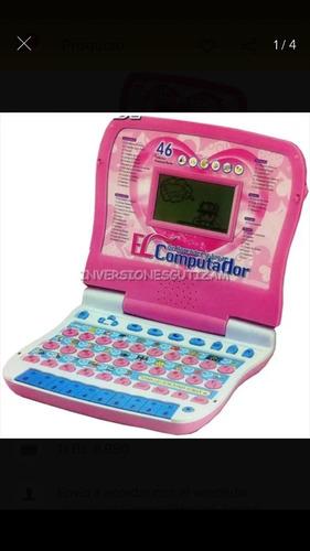 computadora educativa para niñas ver descripc