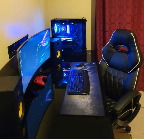 computadora gamer alta gama/incluye escritorio y silla gamer