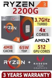 computadora gamer ryzen 3 2200g, ram 8gb corsair, disco 1tb