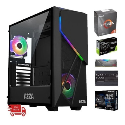 computadora gamer ryzen 5 3600, 1650 super