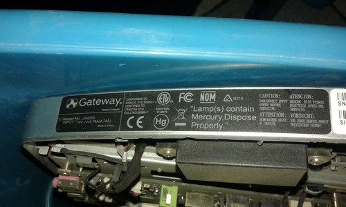 computadora gateway all in one zx4250 partes