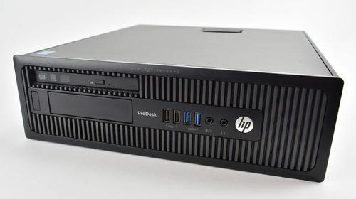computadora hp 600 g1 usff core i5-4570 8gb monitor 22 wifi
